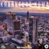 Frankfurt am Main Skyline bei Nacht auf dem Cover