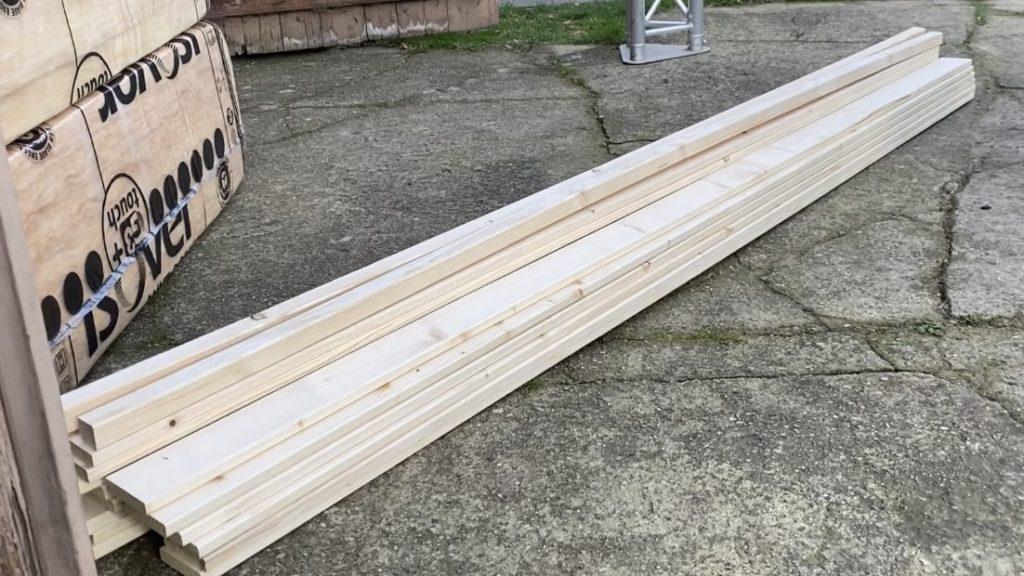 Kiefer Holz Bretter